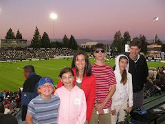 At an Earthquakes game