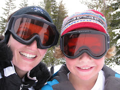 Mom and Ryan at Northstar