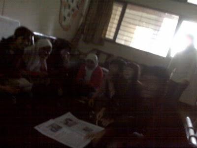Gambar Divisi Jurnalistik NIC BEM FMIPA UNDIP goes to Manunggal