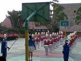 Penampilan Drum Band Gempita Smansa P bun