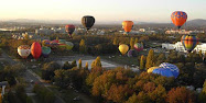 Balloons over Canberra
