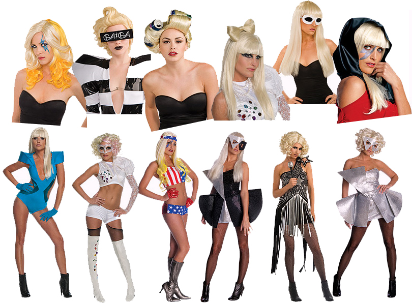 American pop singer Lady Gaga who is best 2010-lady-gaga-outfits