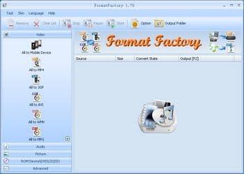 Format factory 3.1.1.0 - μετατρέψτε τα πάντα!