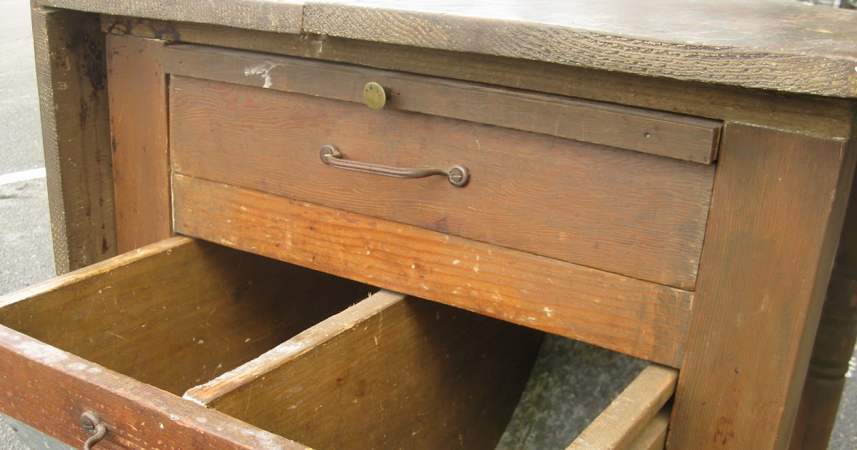 Uhuru Furniture Collectibles Sold Small Antique Bin Table 100