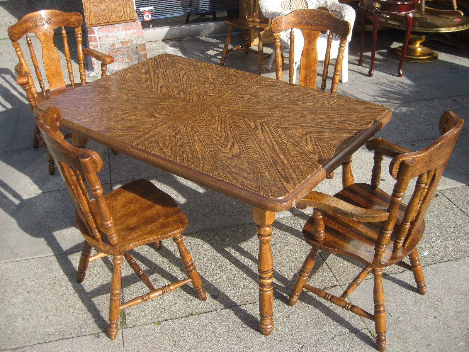 Uhuru Furniture Collectibles Sold Dining Table 6