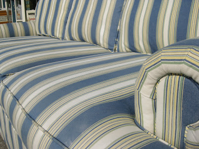 Sold Striped Sofa 125