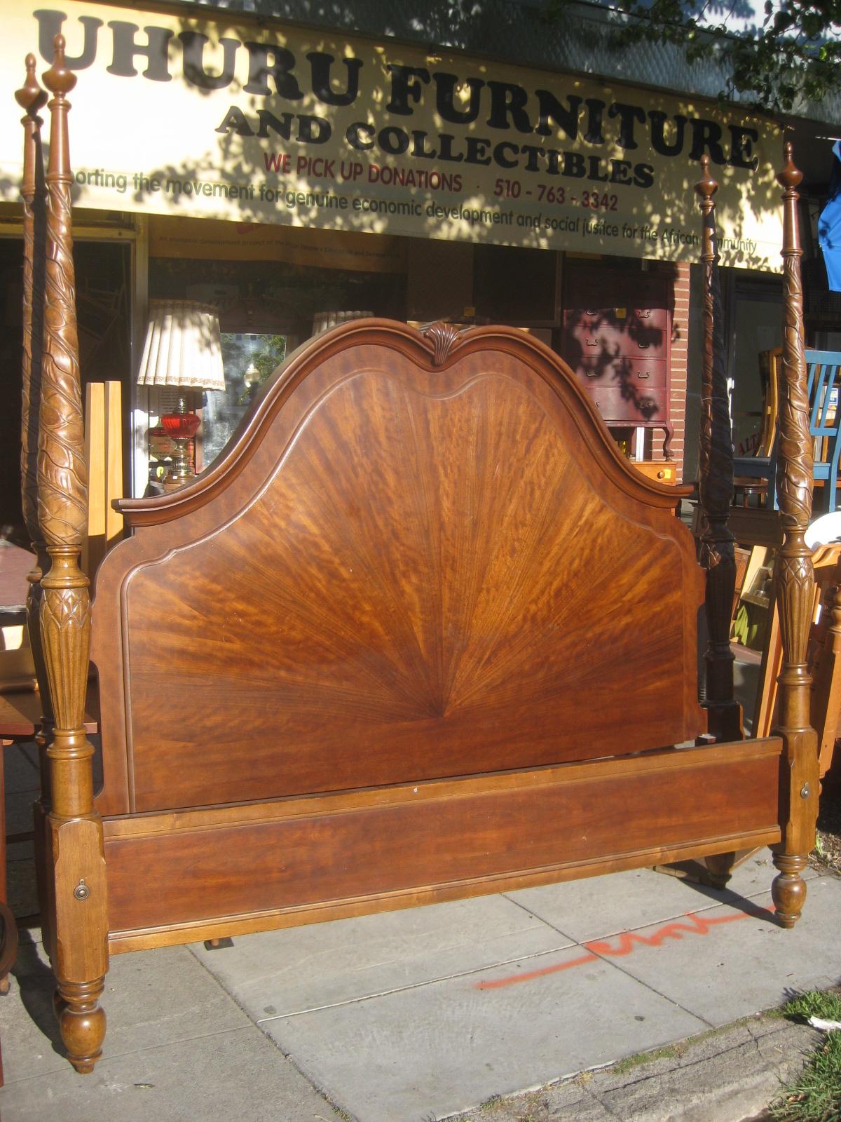 uhuru furniture collectibles sold eastern king bed frame 250. Black Bedroom Furniture Sets. Home Design Ideas