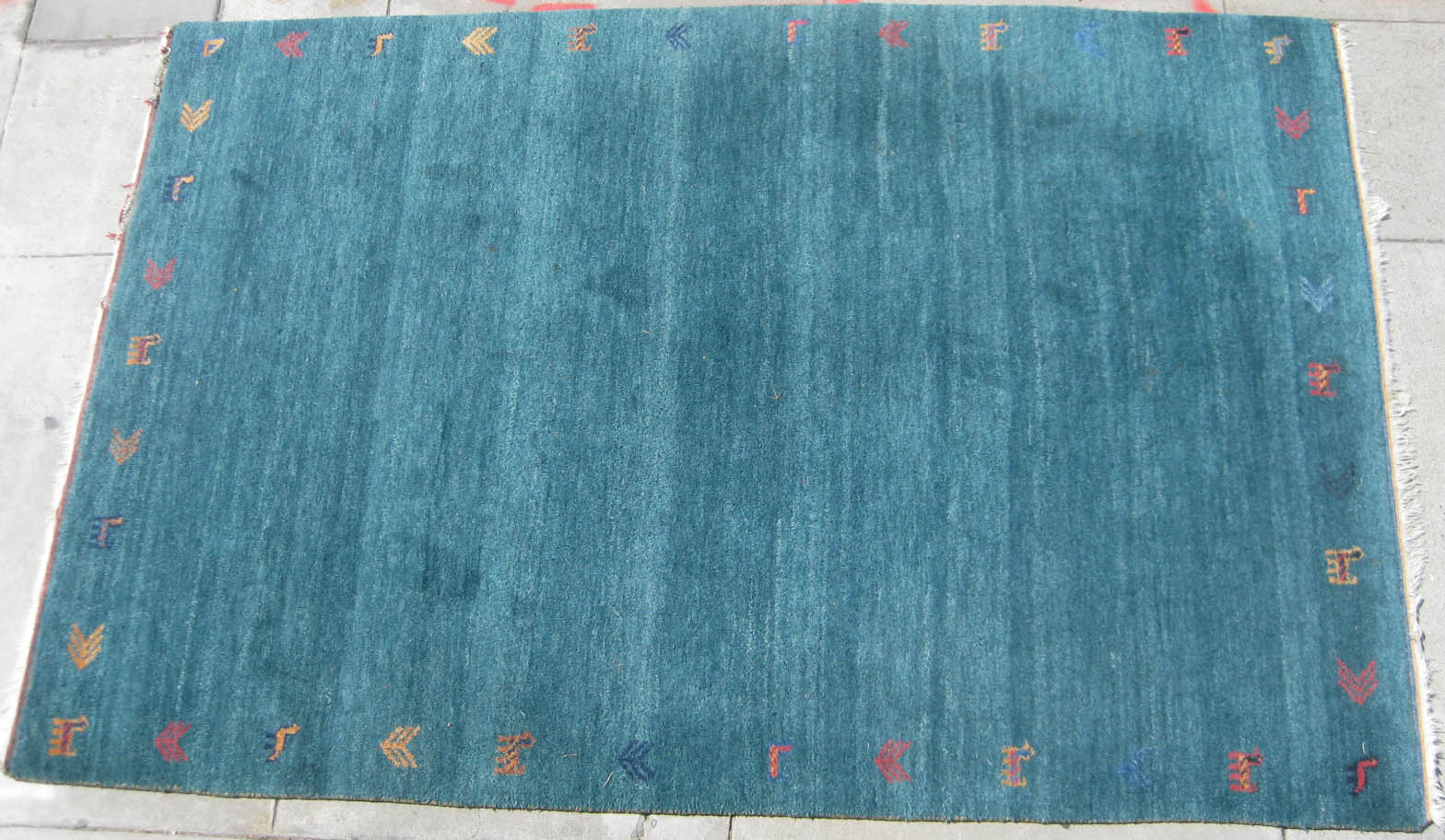 Uhuru Furniture Collectibles Sold 6 X 9 Indo Gabbeh Rug 100