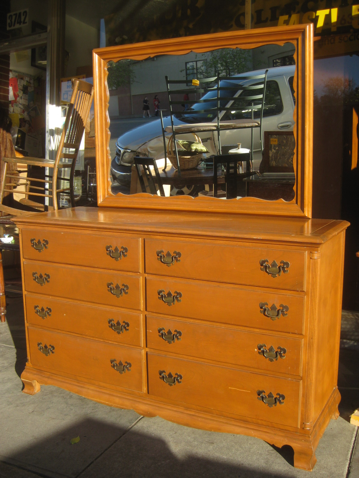Maple Dresser With Mirror Bestdressers 2019