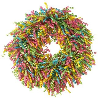 Christmas Party Decorations on Raz Christmas Decorations  Party Decoration Idea Using Curly Wreath
