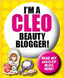 I am CLEO Top Beauty Blogger 2011 !!!