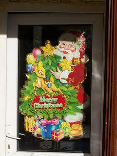 Santa on Door