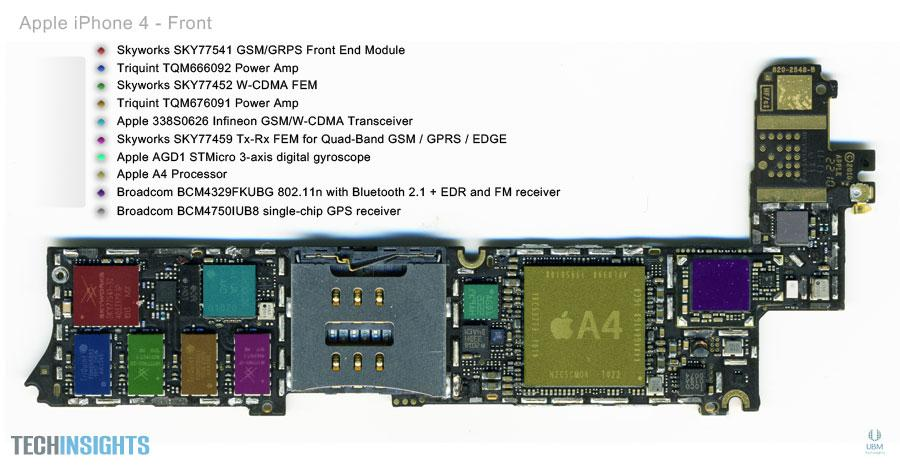 Iphone 4 Schematic Diagram
