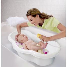 ¿Cómo bañar al recien nacido?