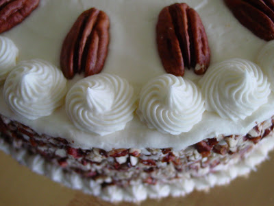 Carrot Cake Surprise With Raisins And Coconut