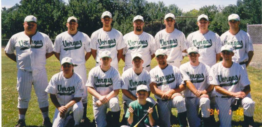 ... incluso tenemos un equipo de Baseball. Los Vergas del pueblo de Vergas