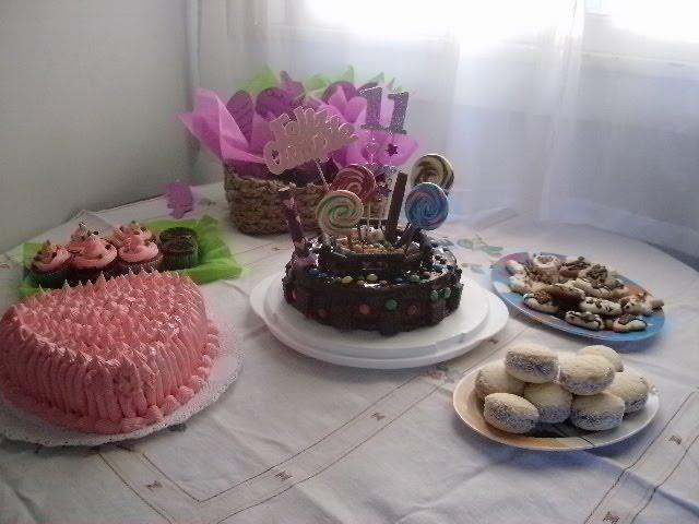 Mesa dulce para fiestas infantiles
