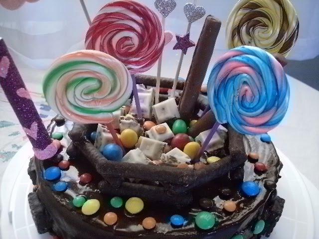 Comidas Caseras y Delicias Dulces: Torta infantil decorada con ...
