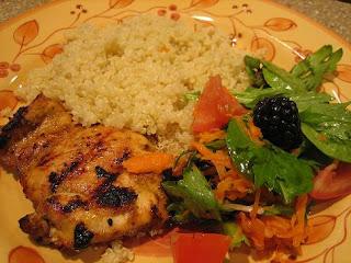 GrilledChickenQuinoa Athlete's Plate – December 23, 2010