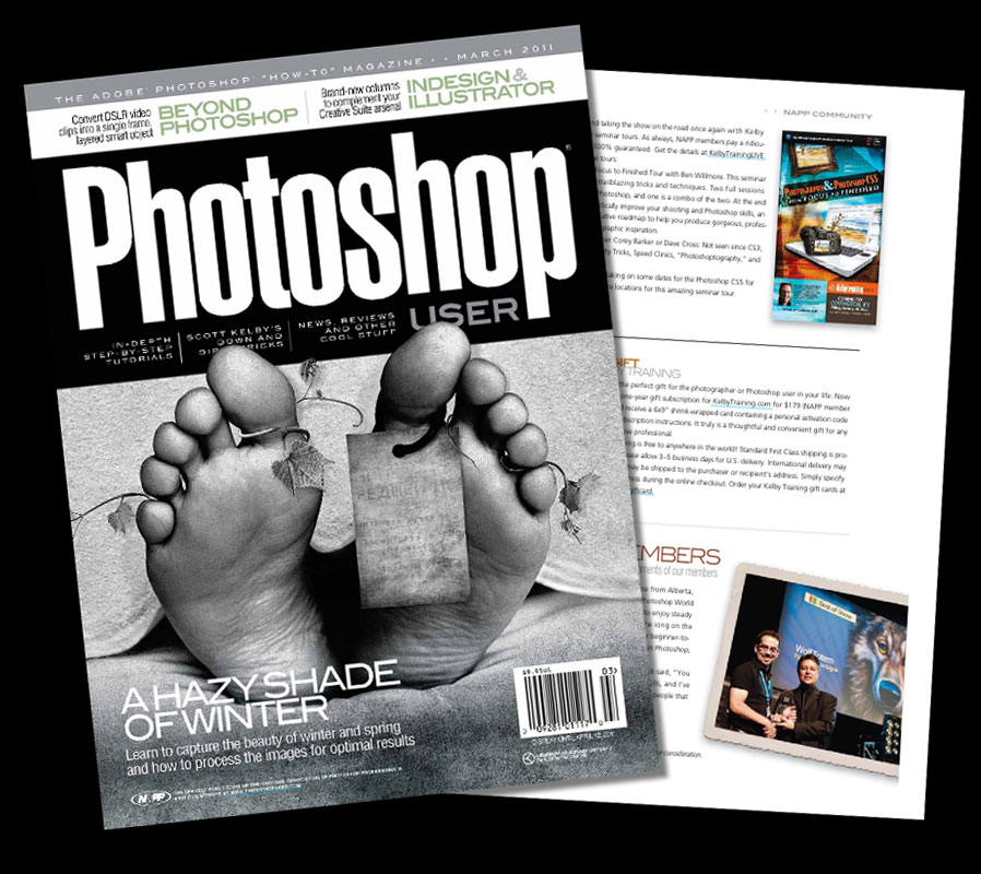 Photoshop User Magazine 2015 All 10 print issues Great Cond. Tips, Tutorials...
