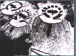 oopart, graffito, alieni