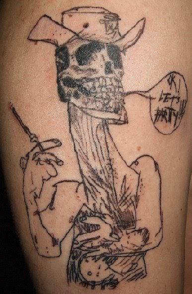 Neopagan ink hunter s thompson ink for Hunter s thompson tattoos