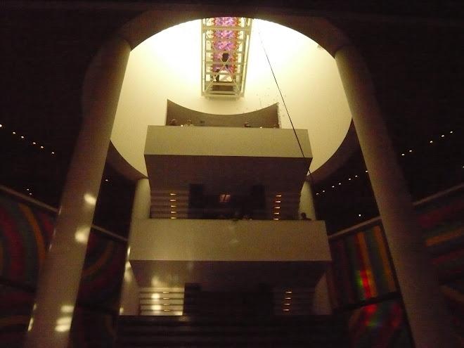 urban temple of modern art