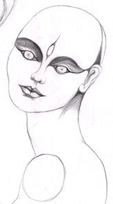 drawing delirium from mannequin
