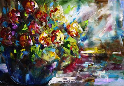 Oil Paintings Of Flowers