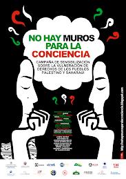 """CAMPAÑA """"NO HAY MUROS PARA LA CONCIENCIA"""""""