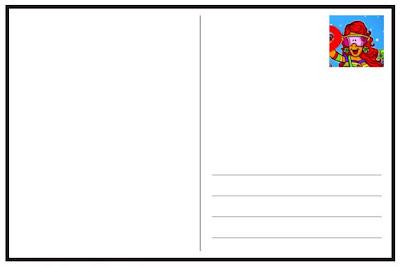 postcard template – Postcard Template