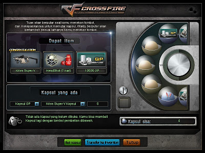 TIPS] Cara Dapetin Senjata Kapsul di Cross Fire Online Indonesia