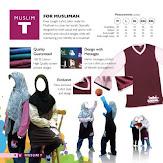 T-SHIRT MUSLIMAT