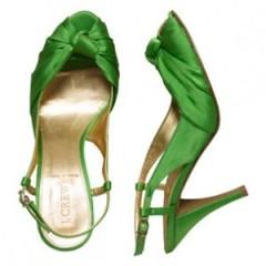 Me gustan los zapatos de color..
