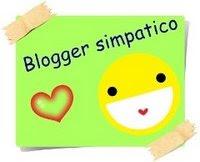 Premio Blogger Simpático