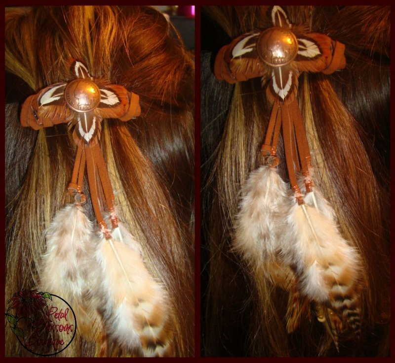syren adult. Adult Items: $7-$22. Indian Feathers Barrette