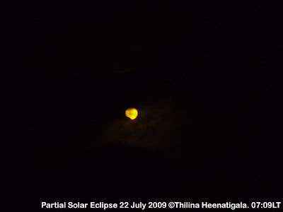 Solar Eclipse 22nd July from Sri Lanka