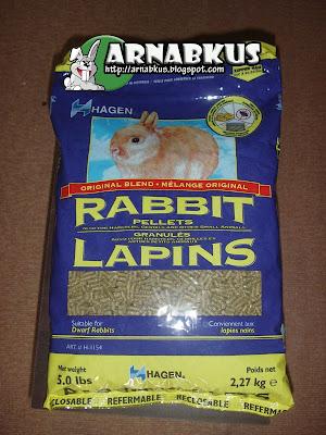HAGEN rabbit pallet 5lbs
