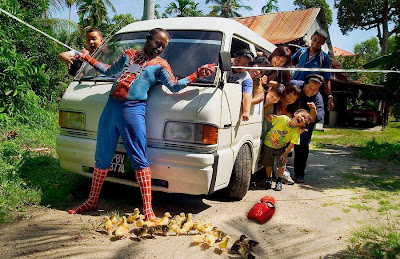funny pictures real human spiderman