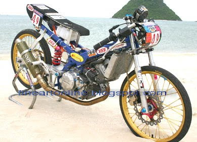 drag race motor cycle