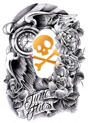 design fine art tattoo idea design pic