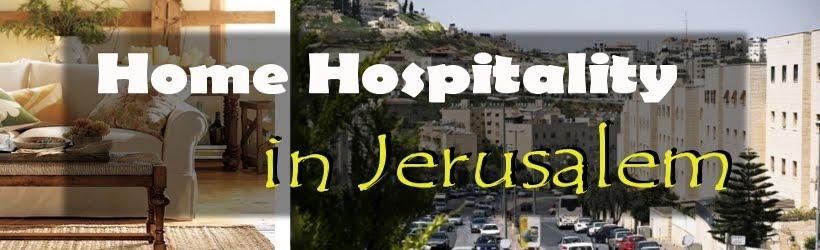 Szállás Jeruzsálemben