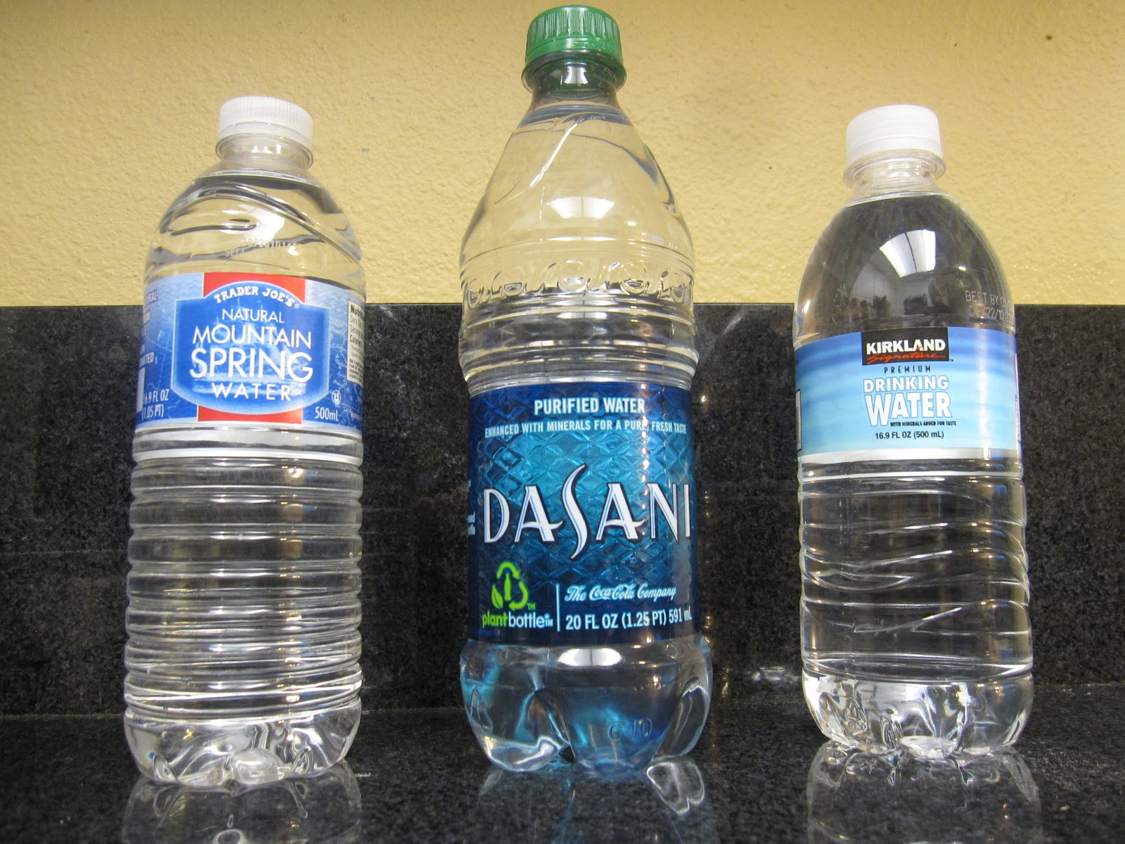 tapped bottled water In its latest report, the los angeles department of water and power found its  water met or exceeded all drinking water standards for health,.