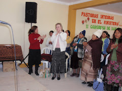 Kerri spoke at the Puno Conference
