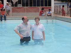 Austin's Water Baptism-Age 12