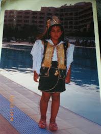 C'était pour un concours Miss enfants