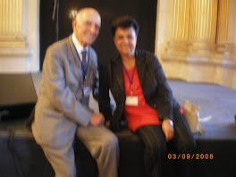 avec Stephane Hessel (Droits de l'Homme...)