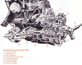 FWD transmission