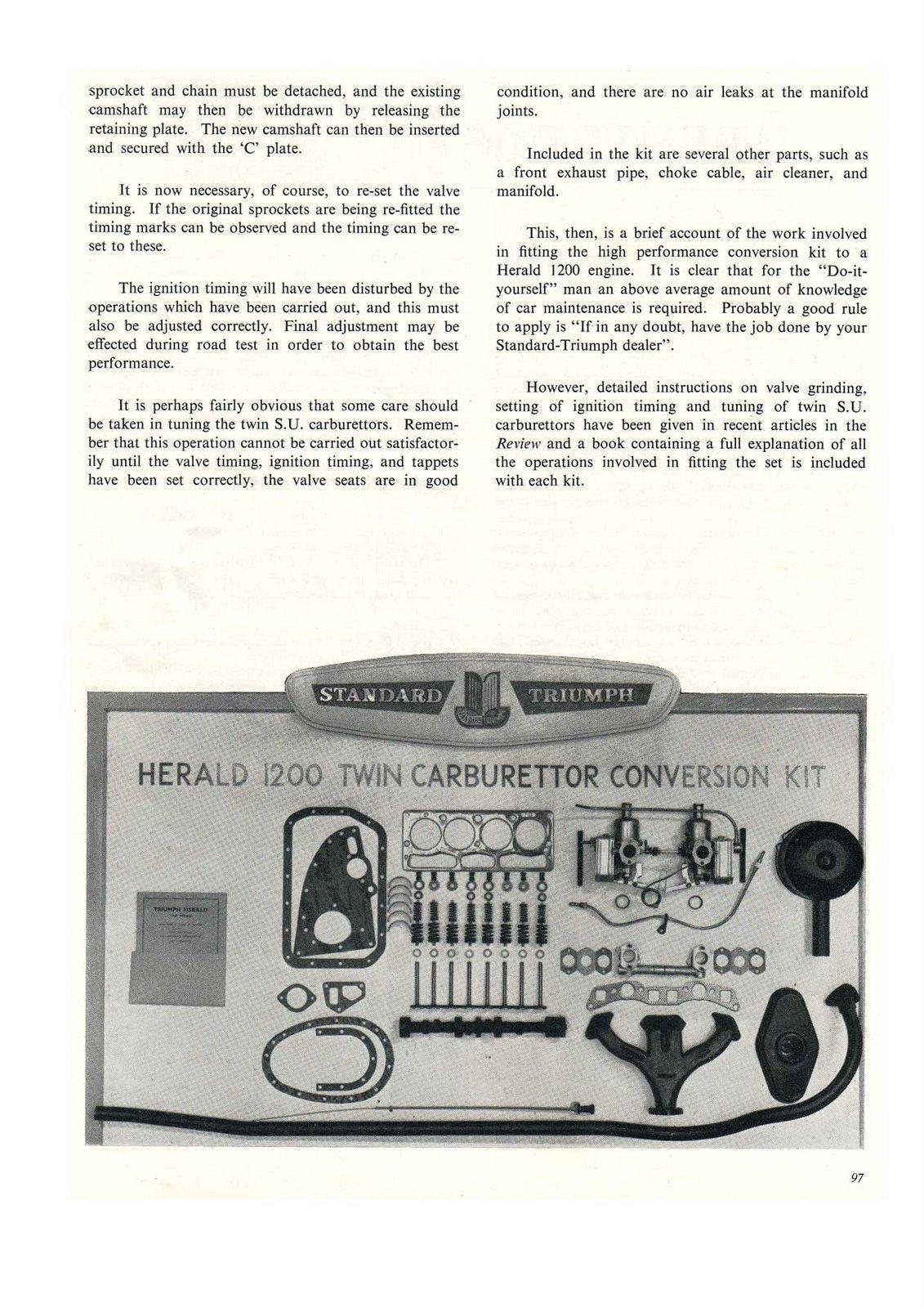 Triumph Herald 1200 Twin