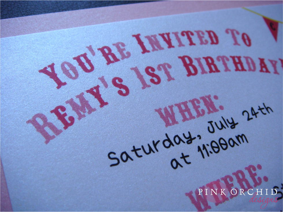 Pink Orchid Weddings Remy 39s Candyland Birthday Invitations